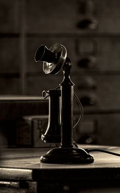 Candlestick Telephone.