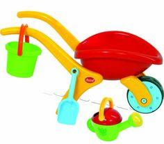 Gowi Toys 558-74 Design Wheelbarrow Set