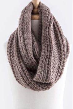 Soft Infinity Scarf - Mocha – Simple Arrow Boutique