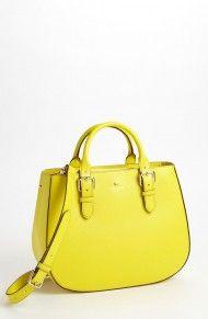 41f00f10735e Kate Spade Charlotte Street Sylvie Satchel in Yellow (vivid yellow) Kate  Spade Totes