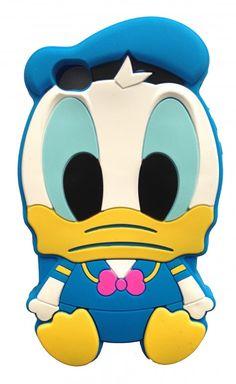 Iphone 4 hoesje Donald Duck  www.ohsohip.nl