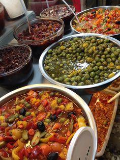Pickles. Persian Food. Tajrish Bazar.