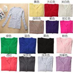 Outerwear doces cor pequenos cardigan mulheres estilo preppy da cardigan manga comprida