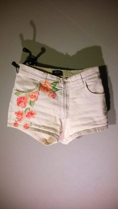 hand painted shorts