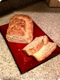 Homemade Beer Bread (only 3 ingredients) - Great served warm with melted butter and some jam :)