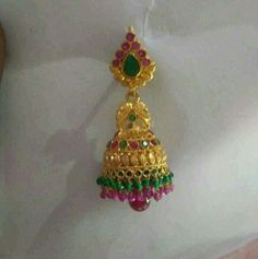 Gallery Gold Jewelry Simple, Gold Rings Jewelry, Jewelry Design Earrings, Gold Earrings Designs, Gold Jewellery Design, Gold Buttalu, Gold Jhumka Earrings, Jewelry Patterns, Gallery