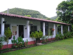 Fr. Cortina's house and museum, in El Salvador.