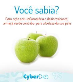 Que tal variar o tipo da maçã na hora do lanche? Confira essa e outras dicas aqui: https://www.facebook.com/cyberdietoficial