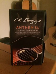 """This was a very easy install for myself and a few other Guitars Ihave installed it in. L.R. Baggs ANTHEM-SL Acoustic Guitar Pickup First thing; tape up the bridge. """"without the saddle"""" after you r..."""