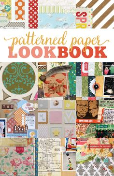 """Using patterned paper in a """"big"""" way to back up the rest of your elements is exciting and a little intimidating. See how it's done!"""
