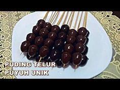 Lagi Viral! puding sate telur puyuh, makanan unik - YouTube Dessert Recipes, Desserts, Fun Recipes, Good Food, Yummy Food, Agar, Cooking Videos, Oreo, Food And Drink