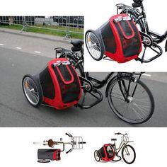 SamSam-Fahrradbeiwagen-Seitenwagen-fuer-Fahrraeder-Fahrrad-Beiwagen-fuer-Hunde