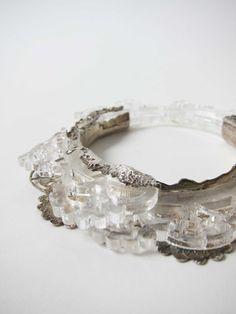 Anke de Kort Plexiglass and silver