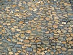 Cobblestone offers a durable surface for patios, walks and driveways.