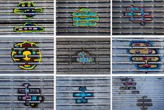 A combination picture shows new and old miniature painting made on discarded chewing gum by artist Ben Wilson on the Millennium Bridge in London. Ben Wilson, Chewing Gum, Outdoor Art, Art Pictures, Photos, Art World, Picture Show, Design Art, Street Art