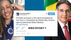 O Diário do Brasil publicou (hoje de manhã) uma denúncia em que o governador de Minas Gerais, Fernando Pimentel (PT), apareceusando uma aeronave pertencente ao governo estadual para suprir suas ne…