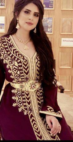 Caftan Morrocan Wedding Dress, Morrocan Dress, Moroccan Caftan, Muslim Fashion, Hijab Fashion, Fashion Dresses, Oriental Dress, Oriental Fashion, Dresses In Dubai