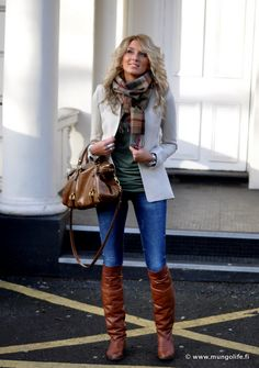 Love this Earth-tone inspired outfit!! Additionally, I need a cream blazer!!! <3 DSC_1025-001