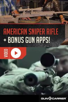 The American Sniper Rifles: The Rifles Used by American Sniper Chris Kyle | Scopes and Optics by Gun Carrier at http://guncarrier.com/the-american-sniper-rifles-the-rifles-used-by-american-sniper-chris-kyle/