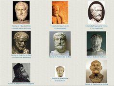Suele nombrarse como presocráticos a un conjunto de autores heterogéneos que van desde Tales a algunos pensadores contemporáneos de Sócrates incluyendo en algunos casos a ciertos sofistas.