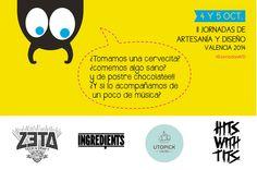 4 y 5 de octubre #IIJornadasAYD. Valencia 2014 @zetabeer @ingredientsvalencia @utopick @hitswithtits