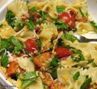 Bowtie Pasta with Tomatoes and Frisée