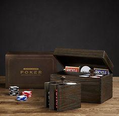 MONTE CARLO POKER Games Box, Diy Games, Poker Set, Gear Art, Source Of Inspiration, Modern Man, Monte Carlo, Restoration Hardware, My Dream Home