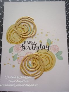 handmade by Julia Quinn - Independent Stampin' Up! Demonstrator: Swirly Bird and Swirly Scribbles Bundle