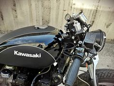 Kawasaki K750 Cafe Racer ~ Return of the Cafe Racers