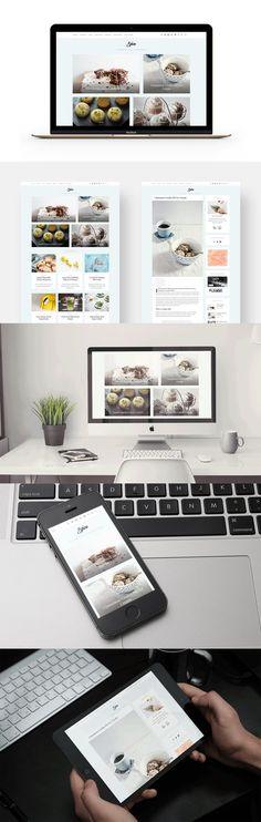Spice - Lifestyle & Food Lovers Blog. WordPress Blog Themes. $49.00