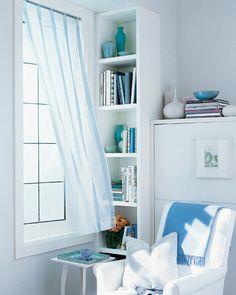 Blue/White Reading Room