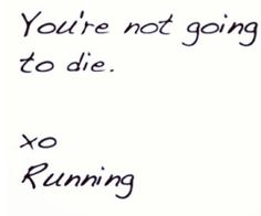 Running is so innocent :)