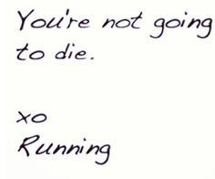 Running is so innocent :)