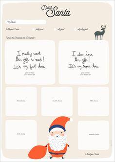Santa Letter #Christmas #UK #English