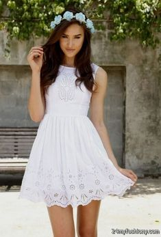 Nice Cute white dresses for confirmation 2016-2017 Check more at http://24myfashion.com/2016/cute-white-dresses-for-confirmation-2016-2017/