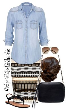 """""""Apostolic Fashions #797"""" by apostolicfashions ❤ liked on Polyvore featuring River Island, Zara, maurices, Marc by Marc Jacobs and Corso Como"""