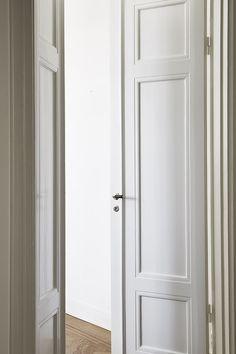 Sofo dörrar spegeldörr vitmålade orginal