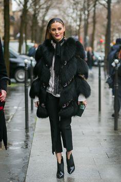 This Olivia Palermo Look Is So Blair Waldorf via @WhoWhatWear