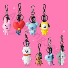 Figure Key Ring by Linefriends Authentic BTS Goods