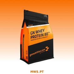 GN Whey Protein 80 é uma proteína concentrada de qualidade #premium proveniente do soro de leite de vacas de pasto. Com um teor proteico de 80% GN Whey Protein 80 proporciona-te uma combinação inigualável de sabor valores nutricionais e resultados  #MyWheyStore #Portugal #Almada #health #fitness #fit #fitnessaddict #fitspo #workout #bodybuilding #cardio #gym #train #training #health #healthy #instahealth #healthychoices #active #strong #motivation #instagood #determination #lifestyle #diet…