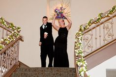 Wedding party did a dance as they came down the staircase at the reception :) So much fun! Wedding Staircase, Salisbury Md, Bridesmaid Dresses, Wedding Dresses, All Pictures, Our Wedding, Bridal Shower, Reception, Dance