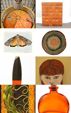 Looking Through Orange by katiegrayhairedgirl on Etsy--Pinned with TreasuryPin.com