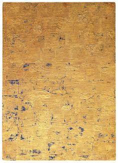 Yves Klein - Monogold sans titre (MG 80 x 56 cm. Yves Klein, Tachisme, International Klein Blue, Nouveau Realisme, Rose Croix, Modern Art, Contemporary Art, Art Walk, Art Moderne