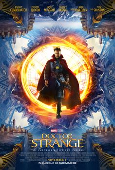 Check out the new movie trailer and movie poster for Marvel's Doctor Strange, coming to theaters on November 4th. #DoctorStrange