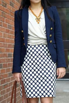 Love whole look - would love this skirt