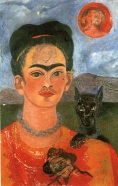 ♥ Self Portrait with Deigo on the Breast ♥ 1953 Frida Kahlo