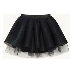 Coated tulle skirt (1,065 PEN) ❤ liked on Polyvore featuring skirts, short skirts, tulle ballet skirt, tulle tutu skirt, knee length tulle skirt and elastic waist skirt