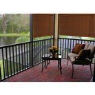 Outdoor Patio Radiance Imperial Matchstick Fruitwood Roll-Up Blind