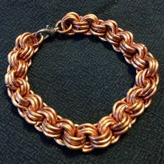Copper Chainmail Bracelet  from AllenCreations for $13.00 on Square Market