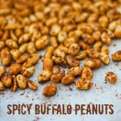 Spicy Buffalo Roasted Peanuts Recipe - The Black Peppercorn - These roasted peanuts are the perfect party food and great for the Super Bowl, tailgate party or any sporting event. Super spicy, this mixture could be used for any kind of nuts. Peanut Snacks, Peanut Recipes, Snack Recipes, Cooking Recipes, Vegetarian Cooking, Honey Roasted Peanuts, Roasted Nuts, Spicy Roasted Peanuts Recipe, Roast Peanuts Recipe